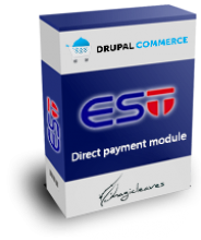 Drupal Commerce - EST Direct Payment Module